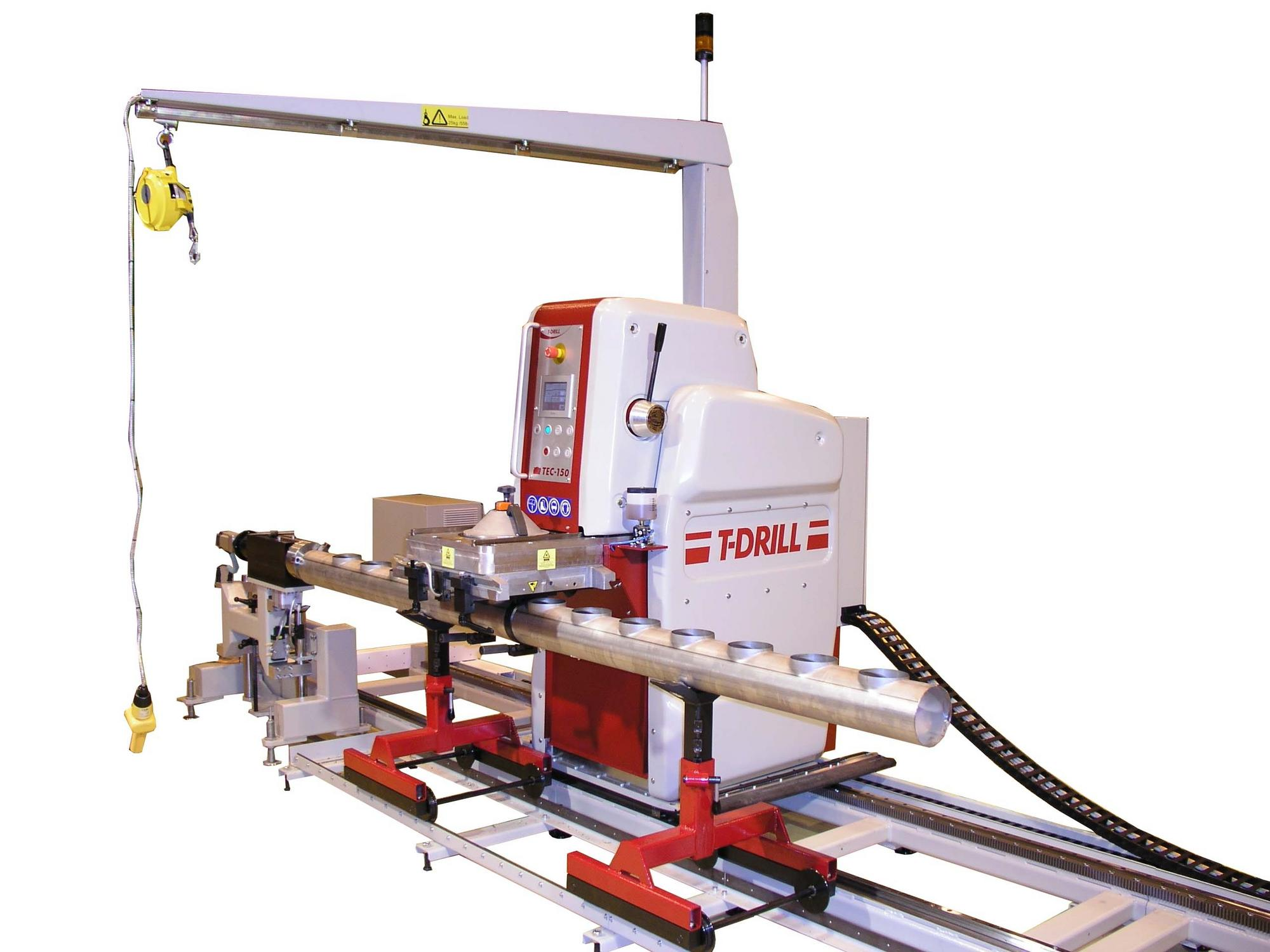 T-DRILL TEC-150 with Automatic Positioning System (ASP)