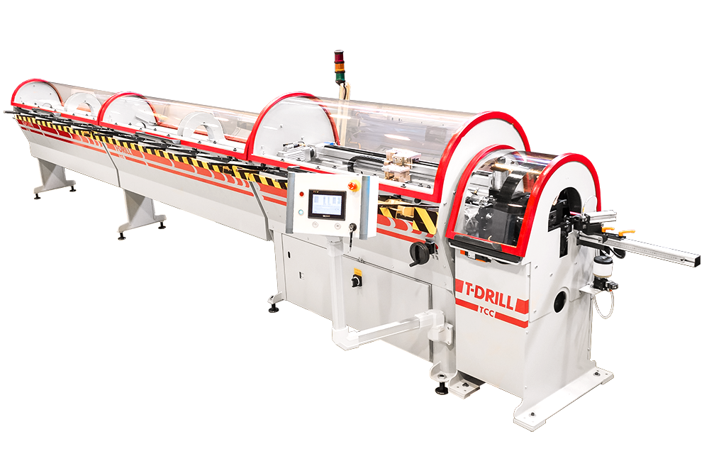 T-DRILL TCC-50 RL Tube Cutting Machine