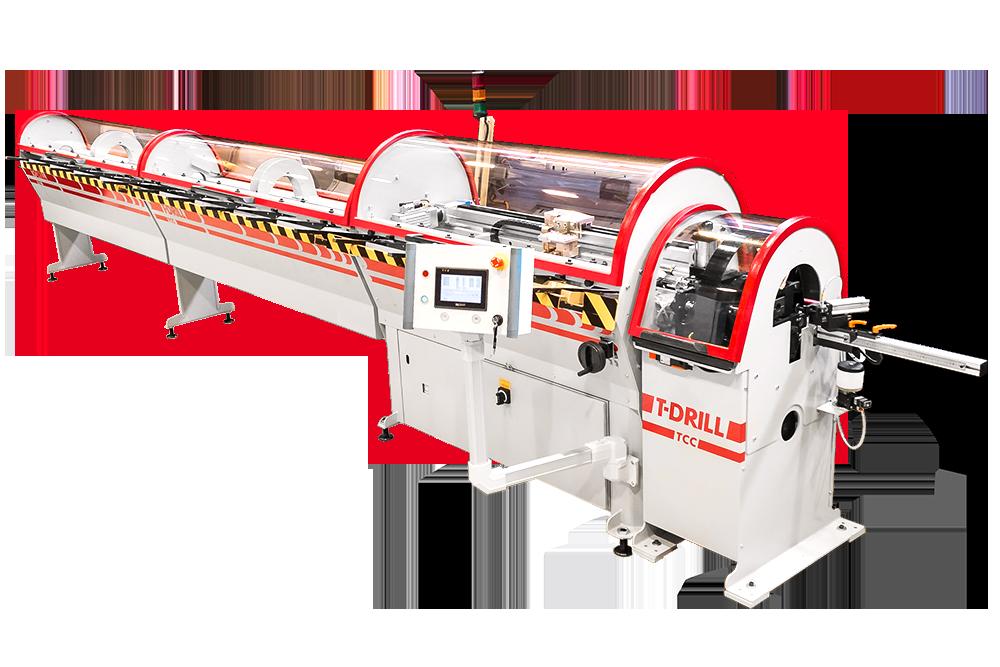 T-DRILL TCC-50 RL Tube Cutting Machine