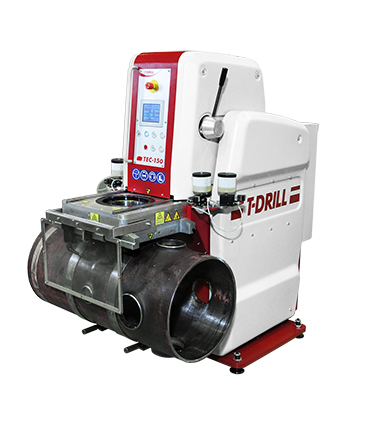 T-DRILL Heavy Duty Collaring machine TEC-150 HD