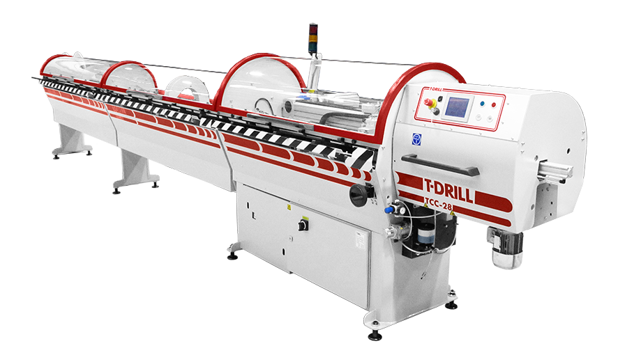 T-DRILL TCC-28 RL Tube cutting machine