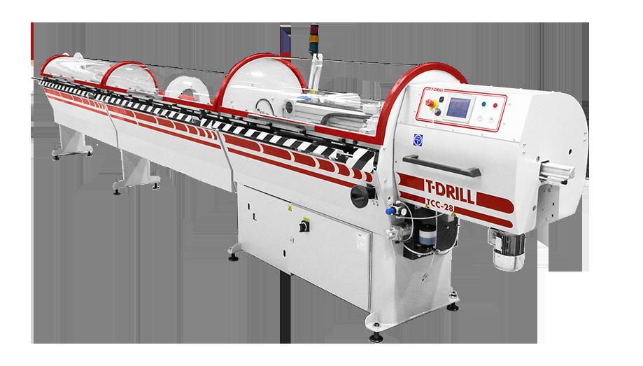T-DRILL TCC-28 RL Tube cutting machine