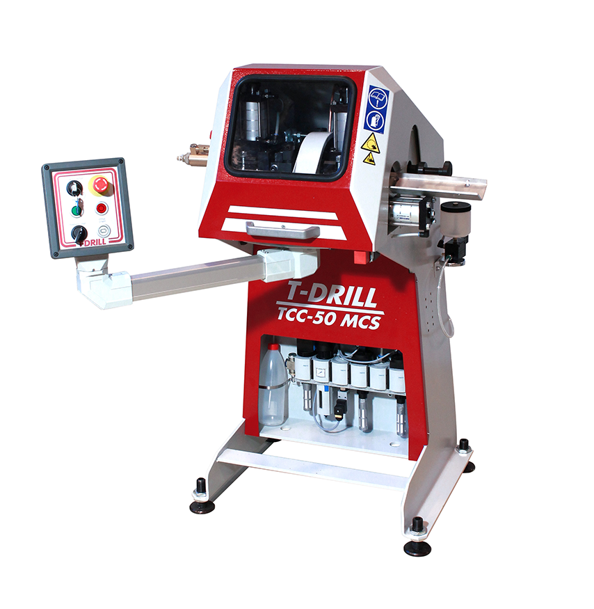 T-DRILL Transportable Chipless Cutting Machine TC-50 MSC