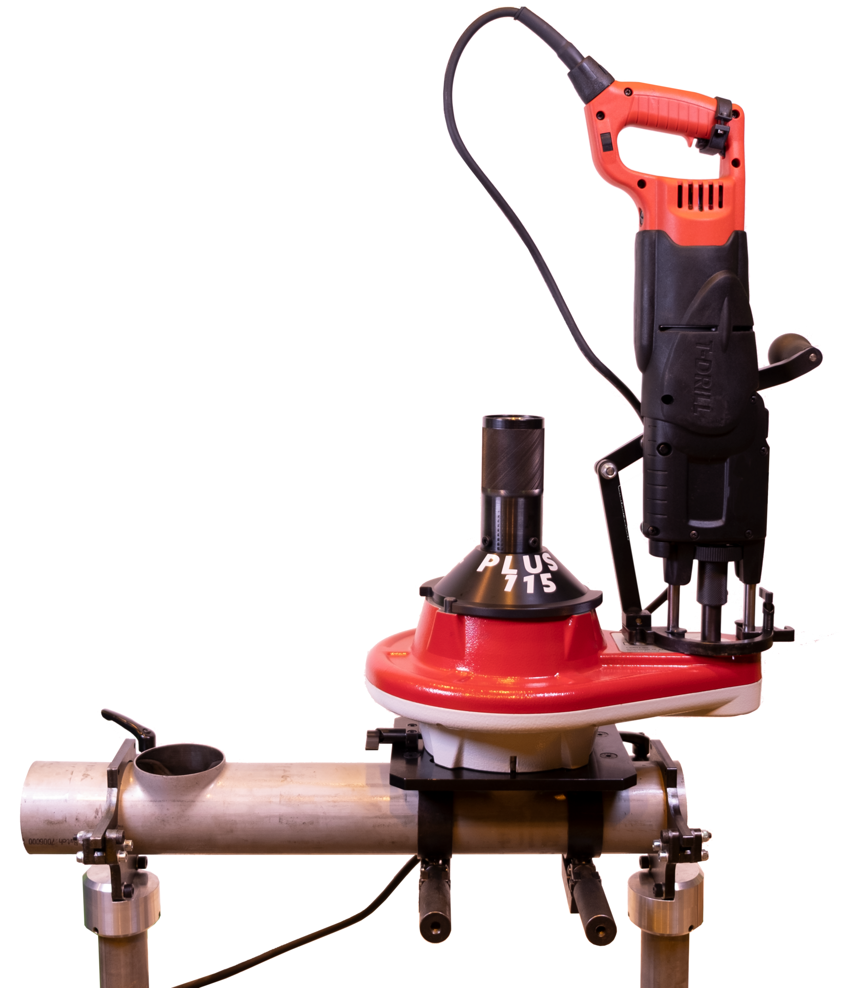 T-DRILL PLUS 115 SS Portable Collaring System for Stainless Steel Tube Branching