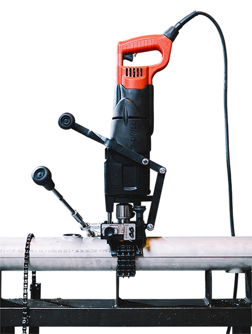 T-DRILL T-65 SS Portable Collaring Machine for Stainless Steel Branching