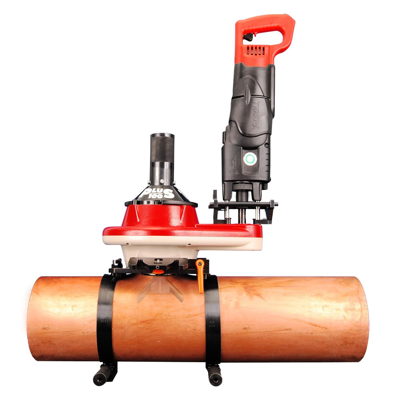 T-DRILL Portable Collaring System for Copper tubes