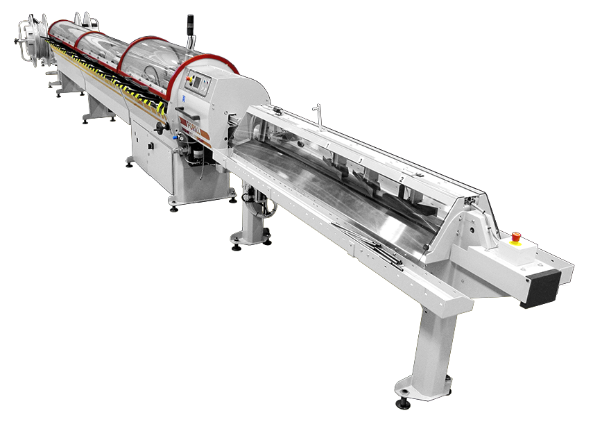 T-DRILL Chipless Cutting machine TCC-28 RL & Coil
